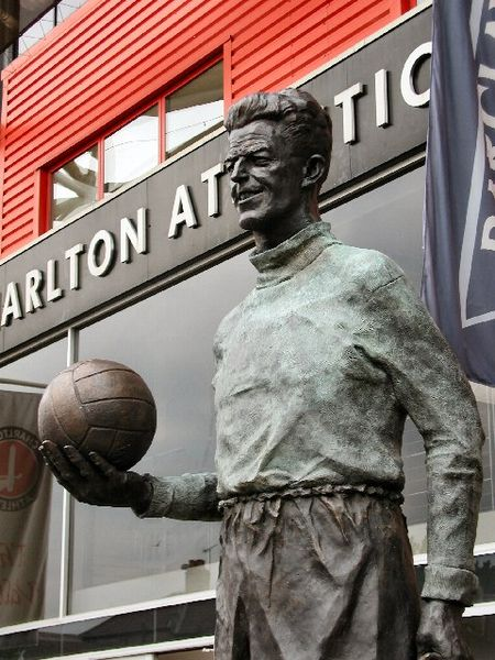 Statua calcio