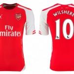 Arsenal Home 2014-15