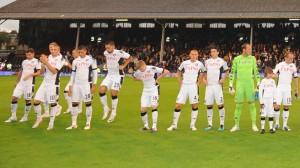 Una formazione del Fulham del 2010-11