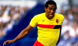 John Barnes con la maglia del Watford